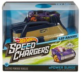 Hot Wheels Speed Chargers Powersurge Light Racer Car and Charger