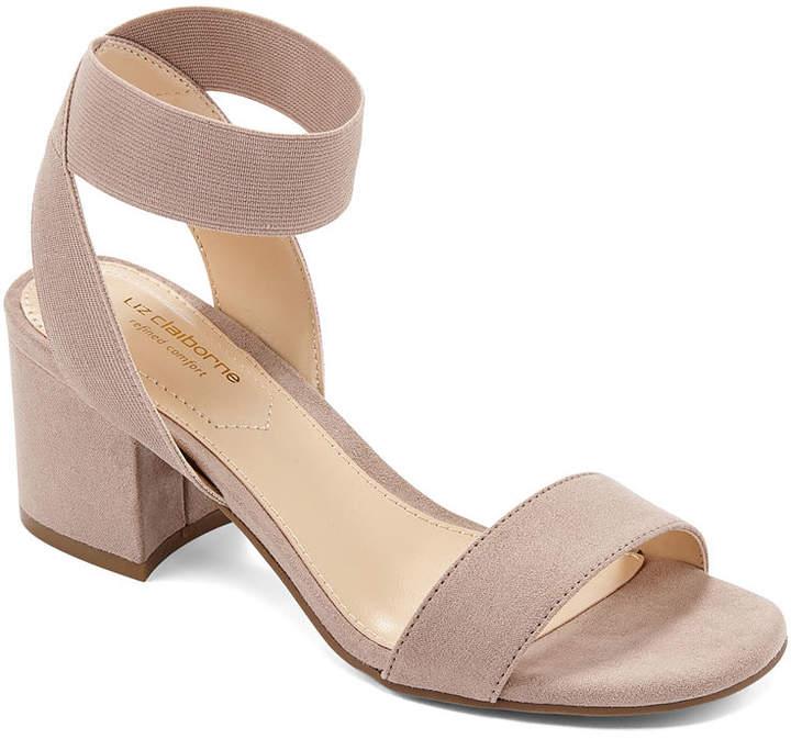 Liz Claiborne Womens Eastwick Strap Sandals
