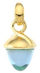 Tamara Comolli Mikado Bouquet 18K Yellow Gold & Sky Topaz Acorn Pendant