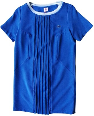 Lacoste Live Blue Dress for Women
