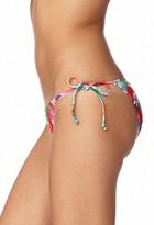 Forever 21 Flower Girl Side-Tie Bikini Bottom