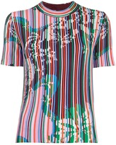 Emilio Pucci Vahine-printed knitted top