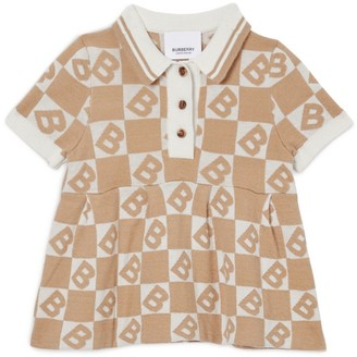 Burberry Kids Polo Shirt Dress