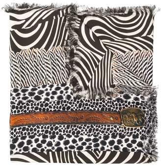 Pierre Louis Mascia Pierre-Louis Mascia printed silk scarf