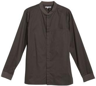 Helmut Lang Long Sleeve Bomber Shirt