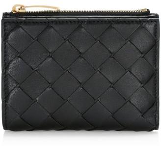 Bottega Veneta Bi-Fold Leather Wallet