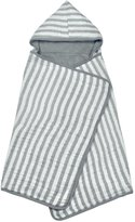 green sprouts by i play. Muslin Hooded Towel - Grey