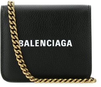 Balenciaga Logo Chain Wallet