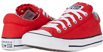 Converse Chuck Taylor All Star Madison Americana - Ox (University Red/White/Obsidian) Women's Shoes