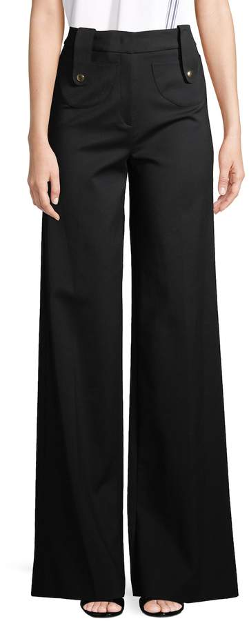 Derek Lam Women's Wide-Leg Trousers