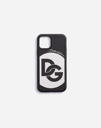 Dolce & Gabbana Rubber Iphone 11 Pro Cover With Crossover Logo