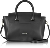 Lancaster Paris Camelia Leather Tote Bag w/Detachable Shoulder Strap
