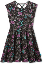 Roxy Floral Pattern Dress, Big Girls (7-16)