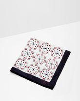 ANTPOC Tile print silk pocket square