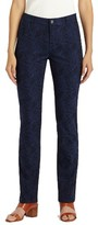 Lafayette 148 New York Women's Thompson Abstract Jacquard Jeans