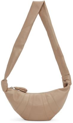 Lemaire SSENSE Exclusive Beige Small Croissant Bag
