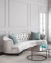 "Haute House Mansfield Monroe Tufted Sofa 114"""