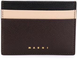 Marni Logo Embossed Card Holder