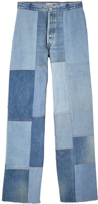 RE/DONE The Amina Patch Denim Pants