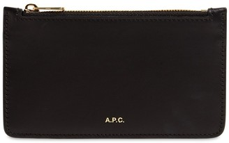 A.P.C. Willow Smooth Leather Card Holder