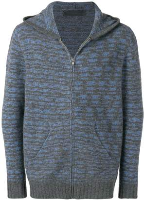The Elder Statesman hooded cashmere cardigan