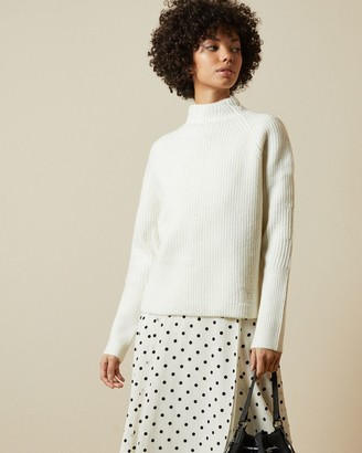 Ted Baker Chunky Stitch Detail Knitted Jumper