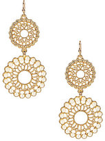 Anna & Ava Carla Filigree & Pearl Drop Statement Earrings