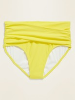 Thumbnail for your product : Old Navy High-Waisted Wrap-Front Swim Bottoms for Women