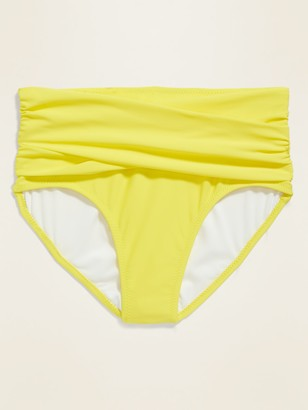 Old Navy High-Waisted Wrap-Front Swim Bottoms for Women