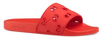 Gucci Men's GG Pursuit Slide Sandals