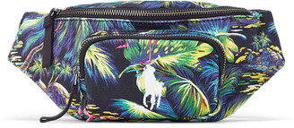 Ralph Lauren Tropical Canvas Waist Pack