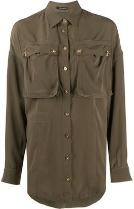 Versace Button-Front Shirt