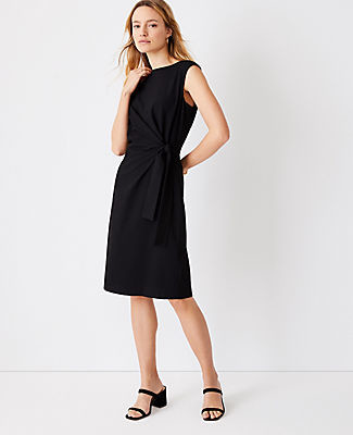 Ann Taylor The Tie Waist Sheath Dress