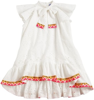 Stella Jean Eyelet Lace Dress