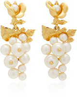 Oscar de la Renta Baroque Pearl Earrings