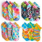 LittleMissMatched Zany Multi Sporty Liners Pack