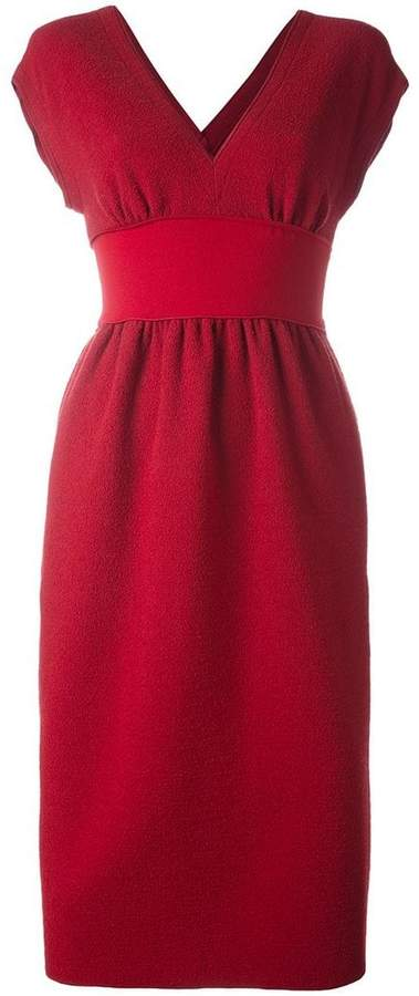 Agnona 'Runway' V-neck dress