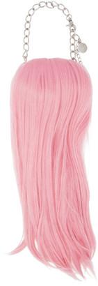 Comme des Garcons Pink Hair Necklace