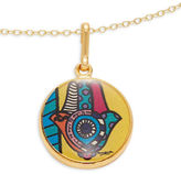 Alex and Ani Hamsa Art Infusion Necklace Charm