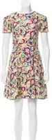Carolina Herrera Woven Printed Dress