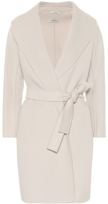 S Max Mara Messi belted virgin-wool coat