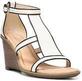 Dr. Scholl's Dr. Scholls Jacobs Bone Leather Wedge Sandals
