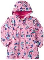 Hatley Happy Owls Raincoat (Toddler/Kid) - Pink - 5