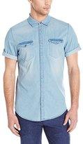Calvin Klein Jeans Men's Short Sleeve Sh