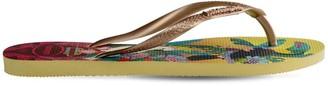 Havaianas 10mm Tropical Rubber Flip Flops