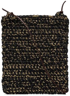 Nicholas Daley Woven-Style Crochet Shoulder Bag