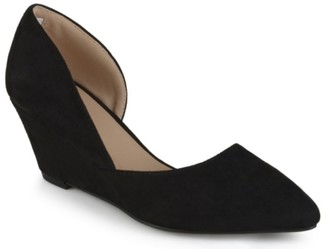 Journee Collection Lenox Wedge Pump
