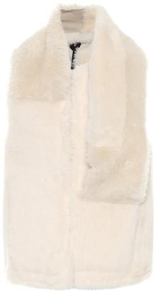 Ann Demeulemeester Reversible shearling vest