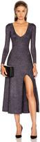 A.L.C. Serafina Dress in Black & Lavender   FWRD