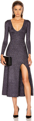 A.L.C. Serafina Dress in Black & Lavender | FWRD